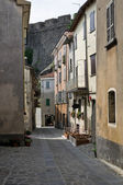 Alleyway. Bardi. Emilia-Romagna. Italy. — Stock Photo
