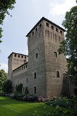 Castelguelfo の城。ノチェート。エミリア = ロマーニャ州。イタリア. — ストック写真
