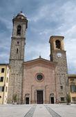 Katedra. bobbio. emilia-romania. włochy. — Zdjęcie stockowe