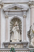 Sanctuary of Our Lady of the holy Rosary. Fontanellato. Italy. — Stock Photo