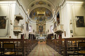Iglesia de santa agata. rivergaro. emilia-romaña. italia. — Foto de Stock