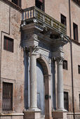 Prosperi-sacrati palacio. ferrara. emilia-romaña. italia. — Foto de Stock