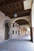 Alleyway. Ferrara. Emilia-Romagna. Italy. — Photo