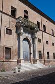 Prosperi-Sacrati Palace. Ferrara. Emilia-Romagna. Italy. — Stock Photo