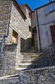 Vicolo. pietrapertosa. basilicata. italia. — Foto Stock