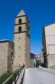 圣弗朗切斯科教堂。pietrapertosa。巴西利卡塔。意大利. — 图库照片