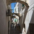 Stock Photo: Alleyway. Vieste. Puglia. Italy.