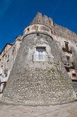 Zamek vico del gargano. puglia. włochy. — Zdjęcie stockowe