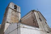 St. elia profeta katedry. peschici. puglia. włochy. — Zdjęcie stockowe