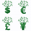 Money tree or investment growth concept. — Stock Photo