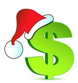 Christmas expenses illustration concept design — Stock Photo