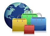 E-Commerce Konzept Illustration design — Stockfoto