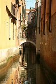 Water reflexions in Venice — Stock Photo