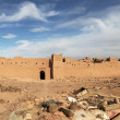 Panorama of Moroccan fortress — Stock Photo