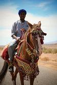 Moroccan riders — Stock Photo