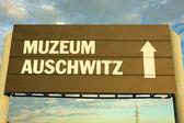 Campo de concentração de auschwitz-birkenau — Foto Stock