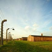 奥斯威辛集中营 — 图库照片