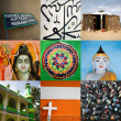 Stock Photo: Religions of world