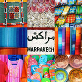 Marrakesh Market — Stock Photo