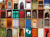 World doors — Stock Photo