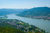 The Danube curve — Stock Photo