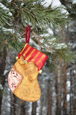 Christmas Stockings, for gifts — Stock Photo