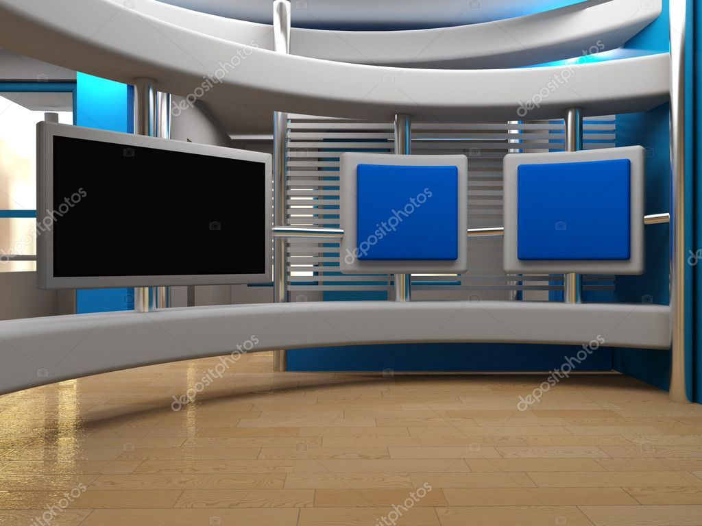 Studio tv | Stock Photo © moatsem alnkhala #7581209