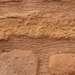 Stock Photo: Old brick brown wall is closeup