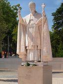 Statue of Pope Pio XII — Stock Photo