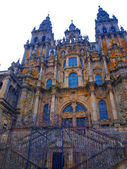 Cathedral of St. James in Santiago de Compostela in Spain — Stock Photo