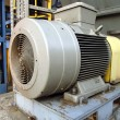 Large electric motor — Stock Photo