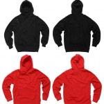 Blank hoodie sweatshirts — Stock Photo