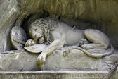 Lion of Lucerne — Stock Photo