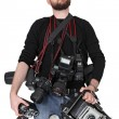 Serious photographer — Stock Photo #7400774