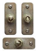 Przełączniki przerzutowe — Zdjęcie stockowe