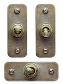 Toggle switches — Stockfoto