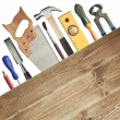 Carpentry background — Stock Photo #7298745