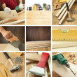 Woodwork collage — Stock Photo #7631185