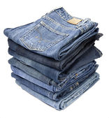Jeans trousers — Stock Photo