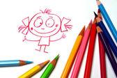 Pencil sketch — Stok fotoğraf