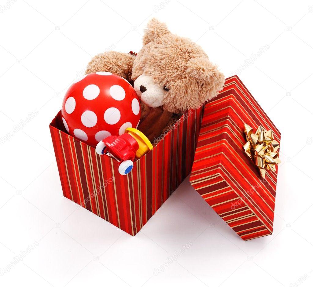 Картинки с подарками игрушками