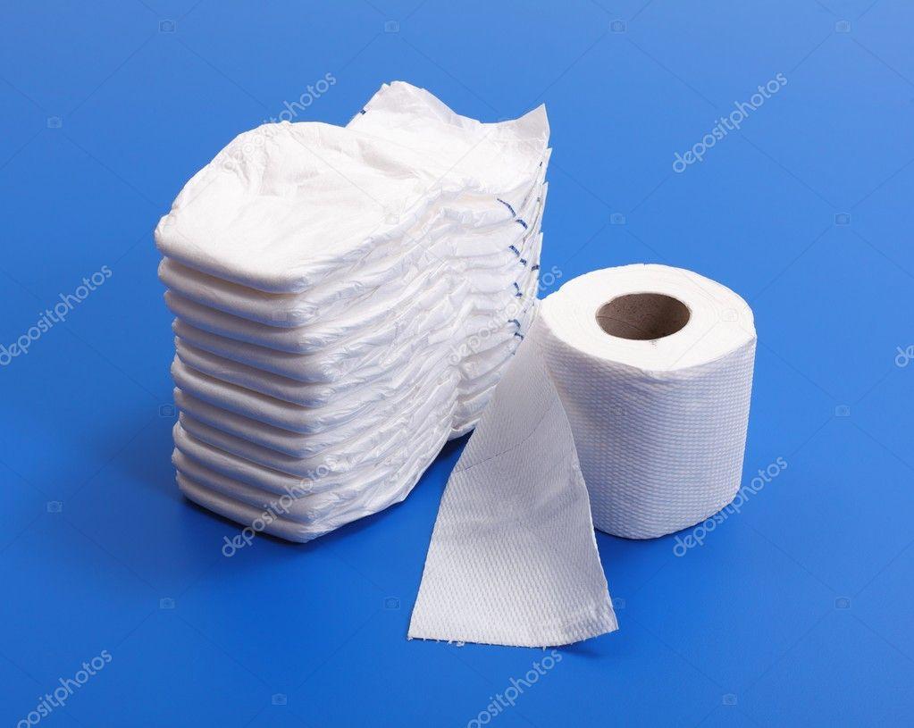 Как из туалетной бумаги сделать памперс