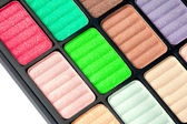 Part of the colorful palette — Stock Photo