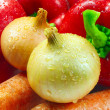 Royalty-Free Stock Photo: Vegetables closeup
