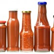 Ketchup bottles — Stock Photo #6849667