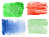 Set of watercolor backgrounds — Stock Photo
