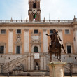 The Campidoglio square in Rome, Italy — Stock Photo