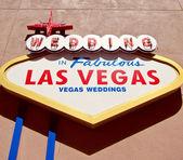 Las Vegas Weddings — Stock Photo