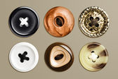 Highly detailed set of buttons — Stock Photo