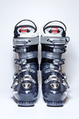 Modern professional ski boots — Stock Photo